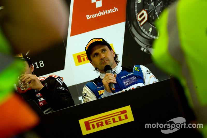 Conferencia de prensa, #26 Sainteloc Racing Audi R8 LMS: Markus Winkelhock