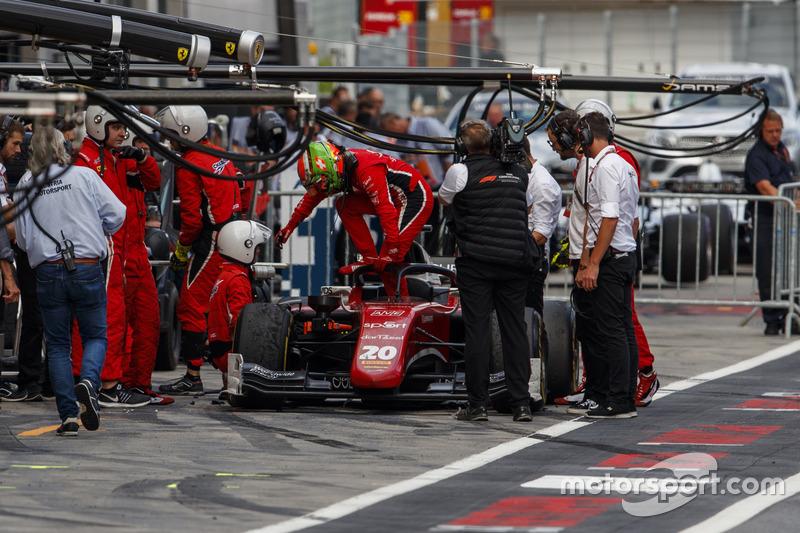 Louis Deletraz, Charouz Racing System, retires