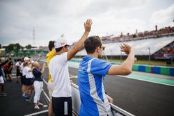 Drivers parade, Sergio Sette Camara, Carlin, Lando Norris, Carlin