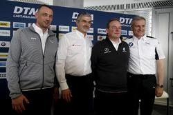 Пресс-конференция: управляющий директор ITR Ахим Кострон, глава DTM Audi Sport Дитер Гасс, руководитель HWA Team Ульрих Фриц и директор BMW Motorsport Йенс Марквардт