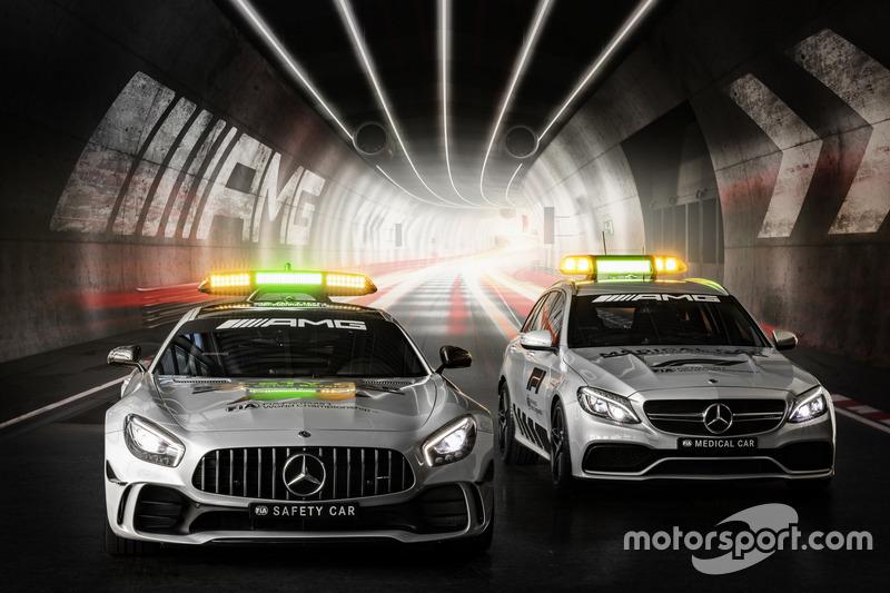 Mercedes-AMG GT R, Safety Car oficial de la F1 2018