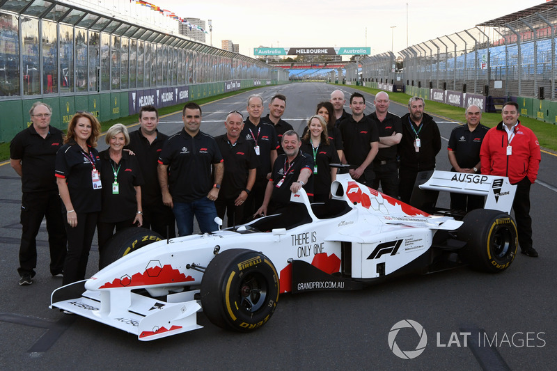Mobil dua-kursi F1 Experiences