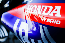 Honda logo on the Toro Rosso STR13 Honda