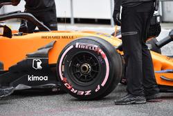 Stoffel Vandoorne, McLaren MCL33 front wheel