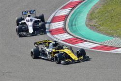Nico Hulkenberg, Renault Sport F1 Team R.S. 18 y Sergey Sirotkin, Williams FW41