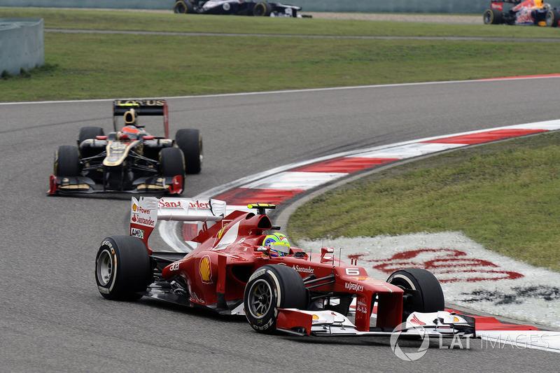 2012: Ferrari F2012 (три победы, 2-е место в КК)