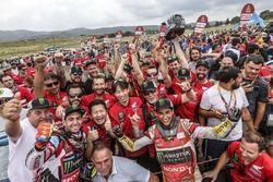 #68 Monster Energy Honda Team Honda: José Ignacio Cornejo Florimo and #47 Monster Energy Honda Team: Kevin Benavides