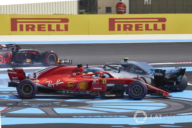5e : Sebastian Vettel (Ferrari)