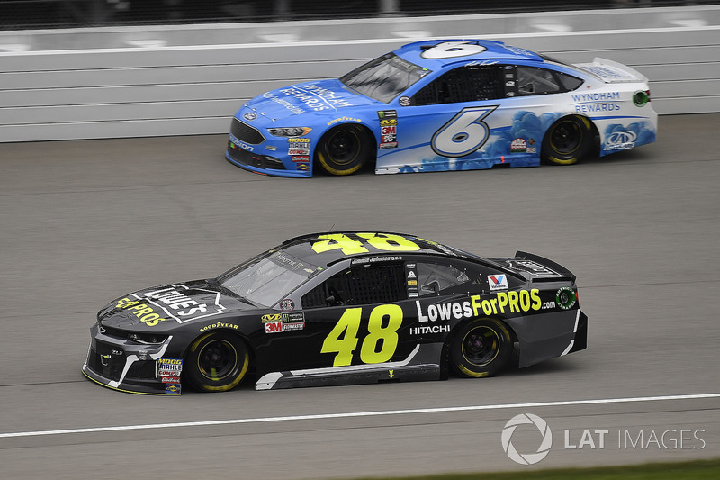 Jimmie Johnson, Hendrick Motorsports, Chevrolet Camaro Lowe's for Pros e Matt Kenseth