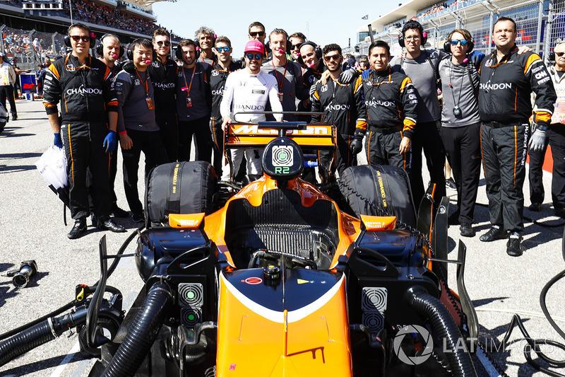 Fernando Alonso, McLaren con el equipo