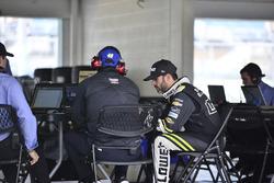 Jimmie Johnson, Hendrick Motorsports Chevrolet, mit Crewchief Chad Knaus