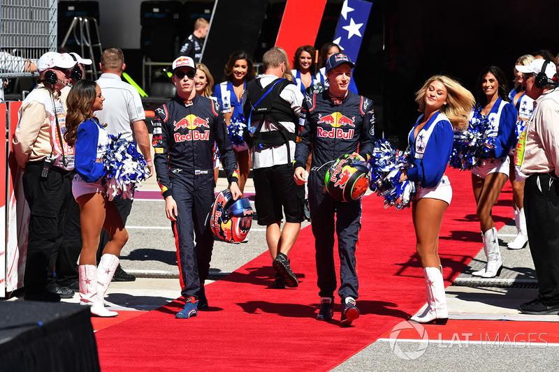 Данііл Квят, Брендон Хартлі, Scuderia Toro Rosso, і дівчата