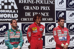Podium: 1. Alain Prost, McLaren; 2. Ivan Capelli, Letyton House; 3. Ayrton Senna, McLaren
