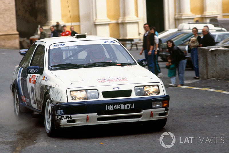 Carlos Sainz, Luis Moya, Ford Sierra RS Cosworth