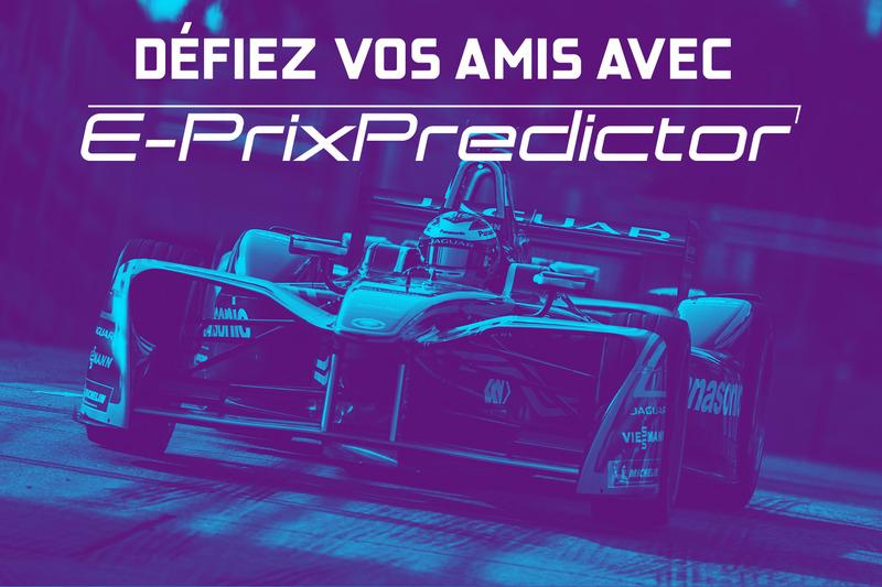 Défiez vos amis avec E-Prix Predictor !