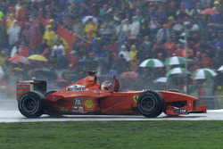 Ganador de la carrera Rubens Barrichello, Ferrari F1 2000
