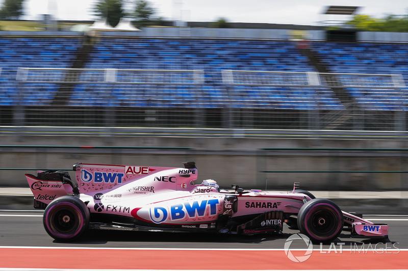 Лукас Ауэр, Sahara Force India F1 VJM10