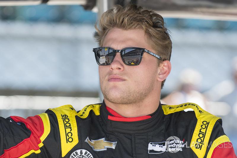 #24 Sage Karam, Dreyer & Reinbold Racing / Chevrolet
