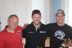 Romeo Nüssli, Roger Schnellmann, Simon Wüthrich, podium E1