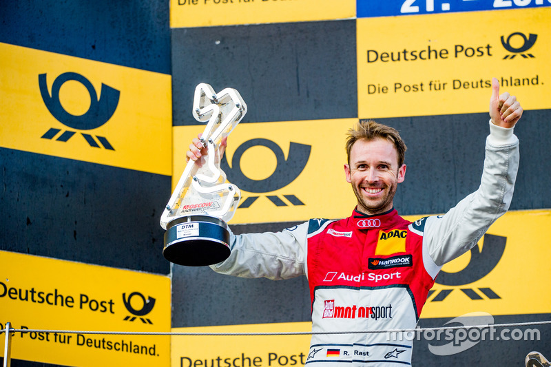 Подиум: Рене Раст, Audi RS5 DTM
