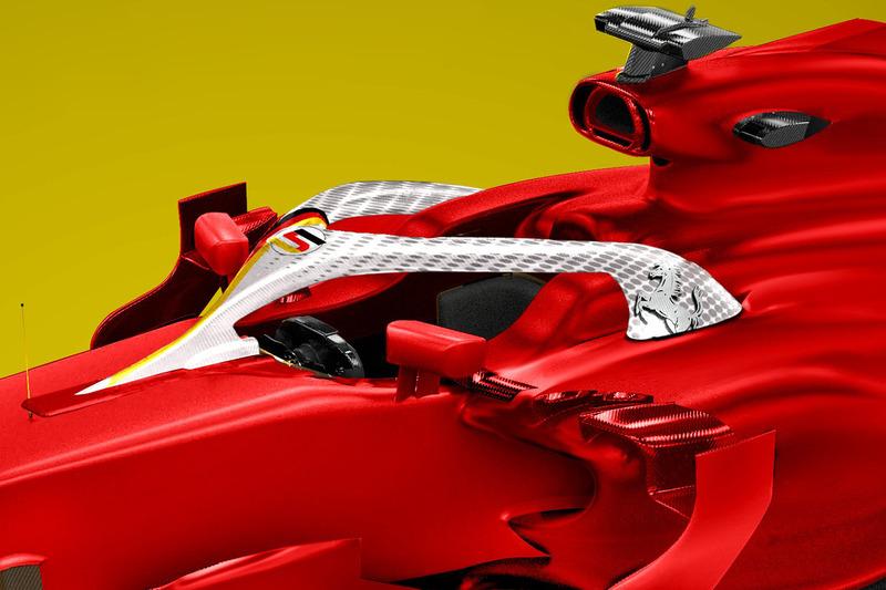 Halo для Себастьяна Феттеля, Ferrari