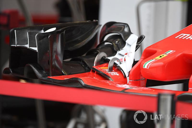 Ferrari SF70-H: Frontflügel