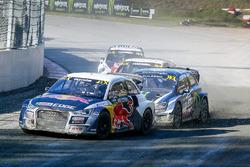 Mattias Ekström, EKS RX Audi S1, Petter Solberg, PSRX Volkswagen Sweden VW Polo Gti