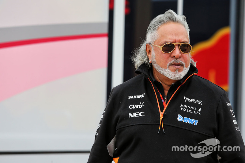 Dr. Vijay Mallya, Sahara Force India Formula One Team Owner