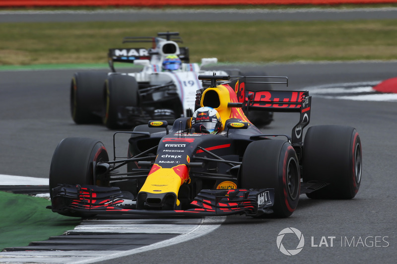 Даніель Ріккардо, Red Bull Racing RB13, Феліпе Масса, Williams FW40
