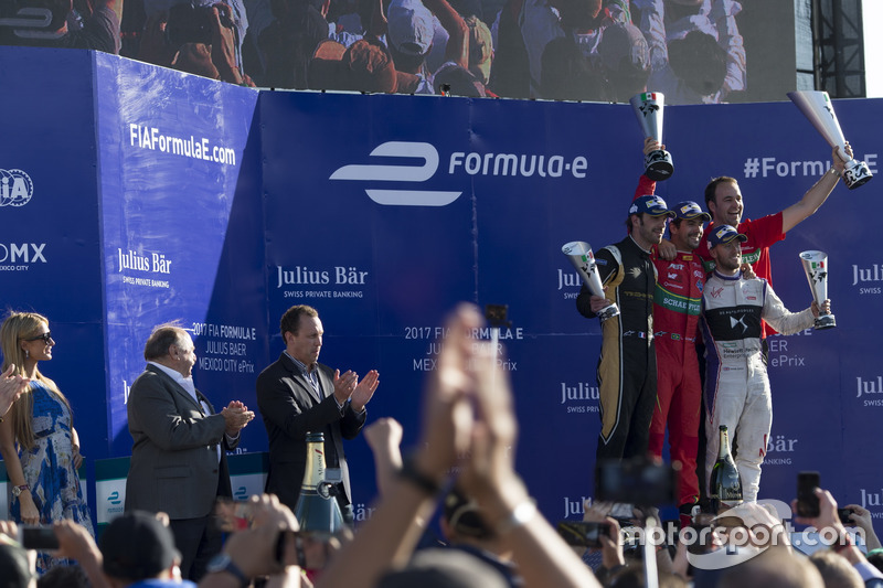 Podium: 1. Lucas di Grassi, ABT Schaeffler Audi Sport; 2.  Jean-Eric Vergne, Techeetah; 3. Sam Bird, DS Virgin Racing