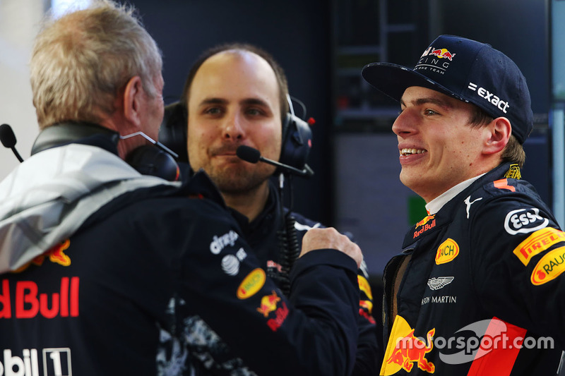 Max Verstappen, Red Bull Racing, Helmut Markko, Red Bull Racing Consultant