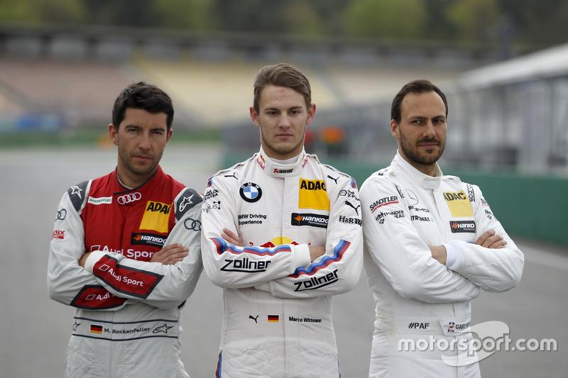 Mike Rockenfeller, Audi Sport Team Phoenix, Audi RS 5 DTM; Marco Wittmann, BMW Team RMG, BMW M4 DTM; Gary Paffett Mercedes-AMG Team HWA, Mercedes-AMG C63 DTM