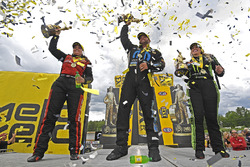 1. Top Fuel: Brittany Force, 1. Funny Car: Matt Hagan, 1. Pro Stock: Erica Enders-Stevens