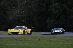 #3 Corvette Racing Chevrolet Corvette C7.R: Antonio Garcia, Jan Magnussen, #16 Change Racing Lamborghini Huracan GT3: Corey Lewis, Jeroen Mul