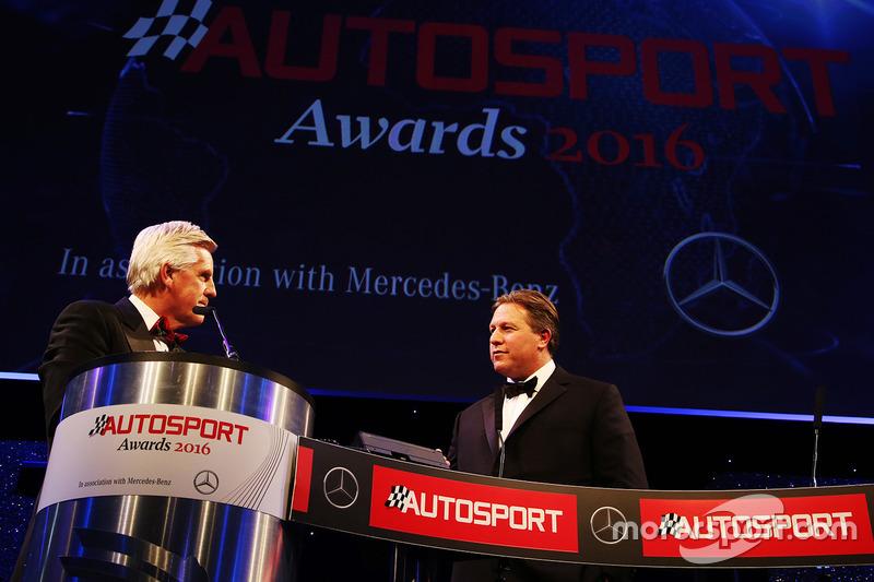 CEO de McLaren, Zak Brown