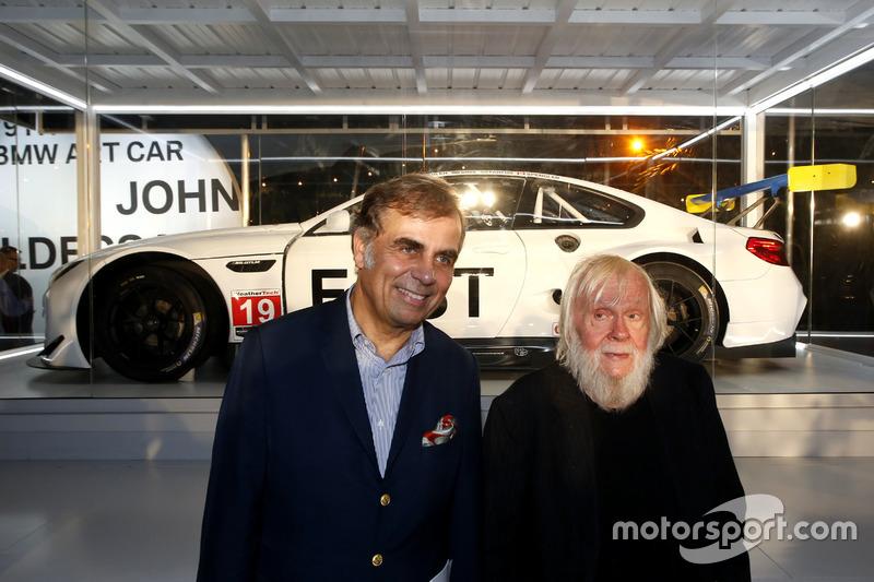 Ludwig Willisch, Jefe de BMW Norteamérica con John Baldessari