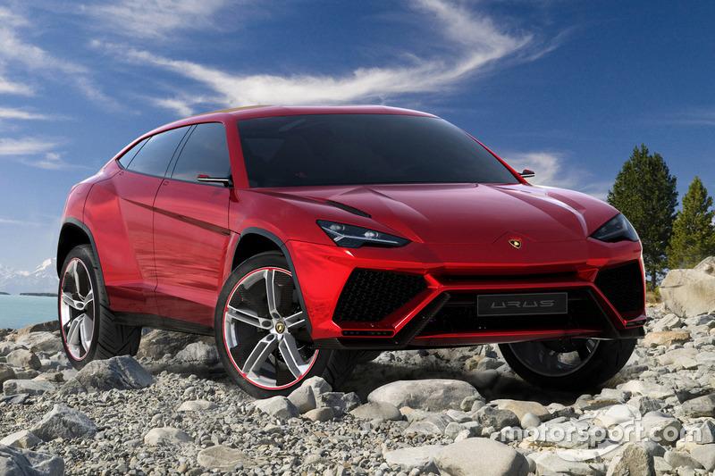 Lamborghini Urus - концепт 2012