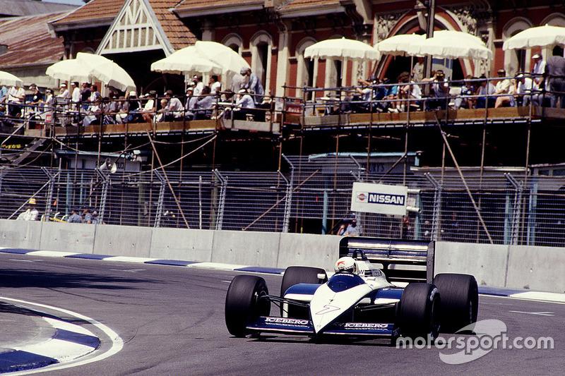 #7: Stefano Modena, Brabham BT56, BMW