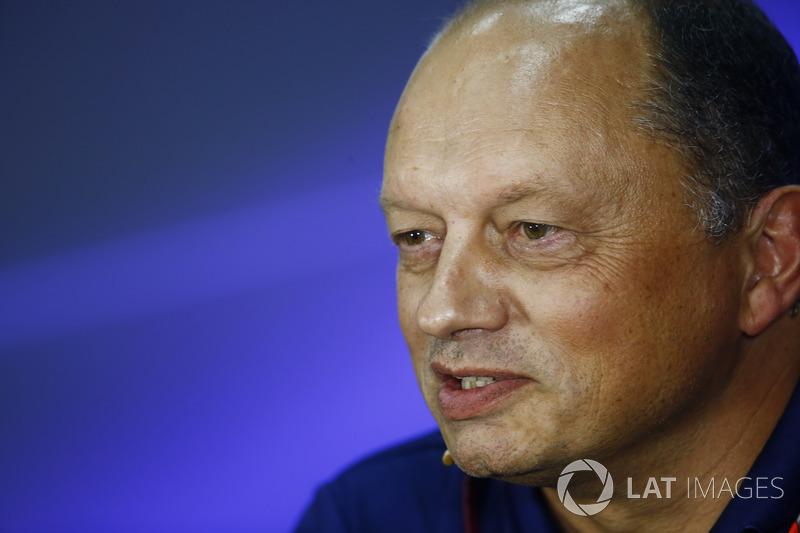 Frederic Vasseur, Team Principal, Sauber F1, in the  FIA press conference