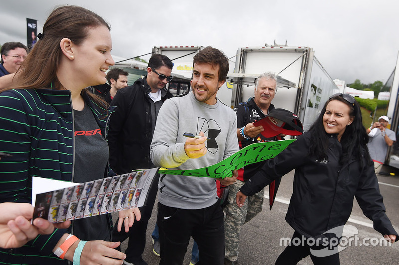 Алабама: первый день Алонсо в IndyCar
