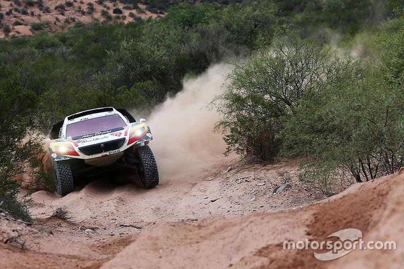 #319 Peugeot: Khalid Al-Qassimi, Pascal Maimon