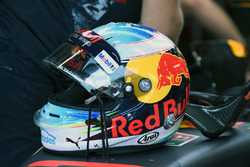 Le casque de Daniel Ricciardo, Red Bull Racing