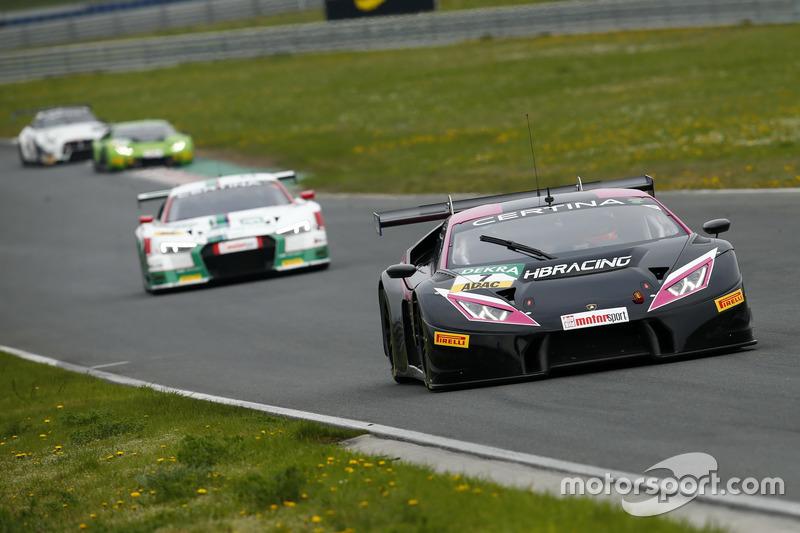 #7 HB Racing WDS Bau, Lamborghini Huracán GT3: Norbert Siedler, Marco Mapelli