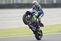 Deuxième place pour Valentino Rossi, Yamaha Factory Racing