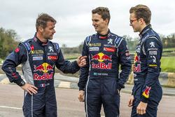 Sébastien Loeb, Team Peugeot Hansen, Timmy Hansen, Team Peugeot Hansen, Kevin Hansen, Team Peugeot Hansen