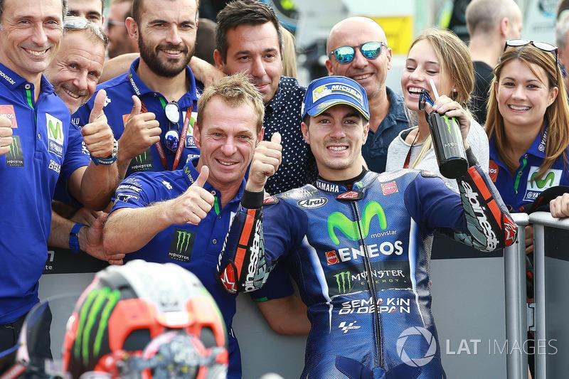 Володар поул-позиції Маверік Віньялес, Yamaha Factory Racing