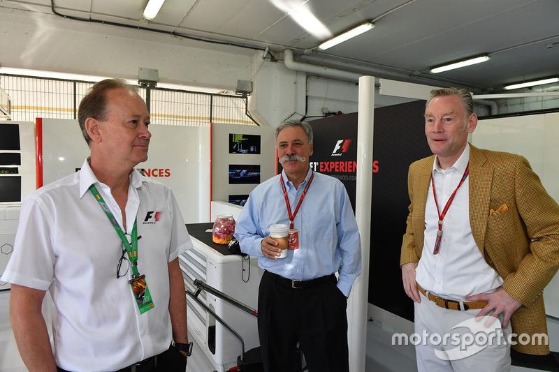 Председатель Formula One Group Чейз Кэри и управляющий директор Ф1 по коммерческим операциям Шон Бра