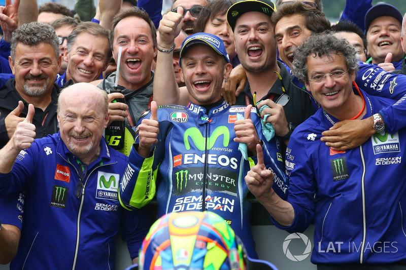 Racewinnaar Valentino Rossi, Yamaha Factory Racing