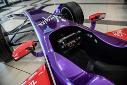 DS Virgin Racing cockpit detail