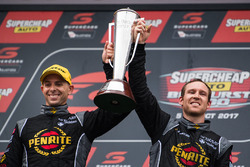 Podium: race winners David Reynolds, Luke Youlden, Erebus Motorsport Holden
